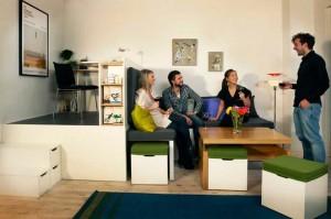 мебель в маленькую комнату
