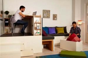 мебель маленькой комнаты