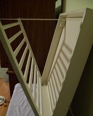 Сушилка своими руками из старой кроватки покраска