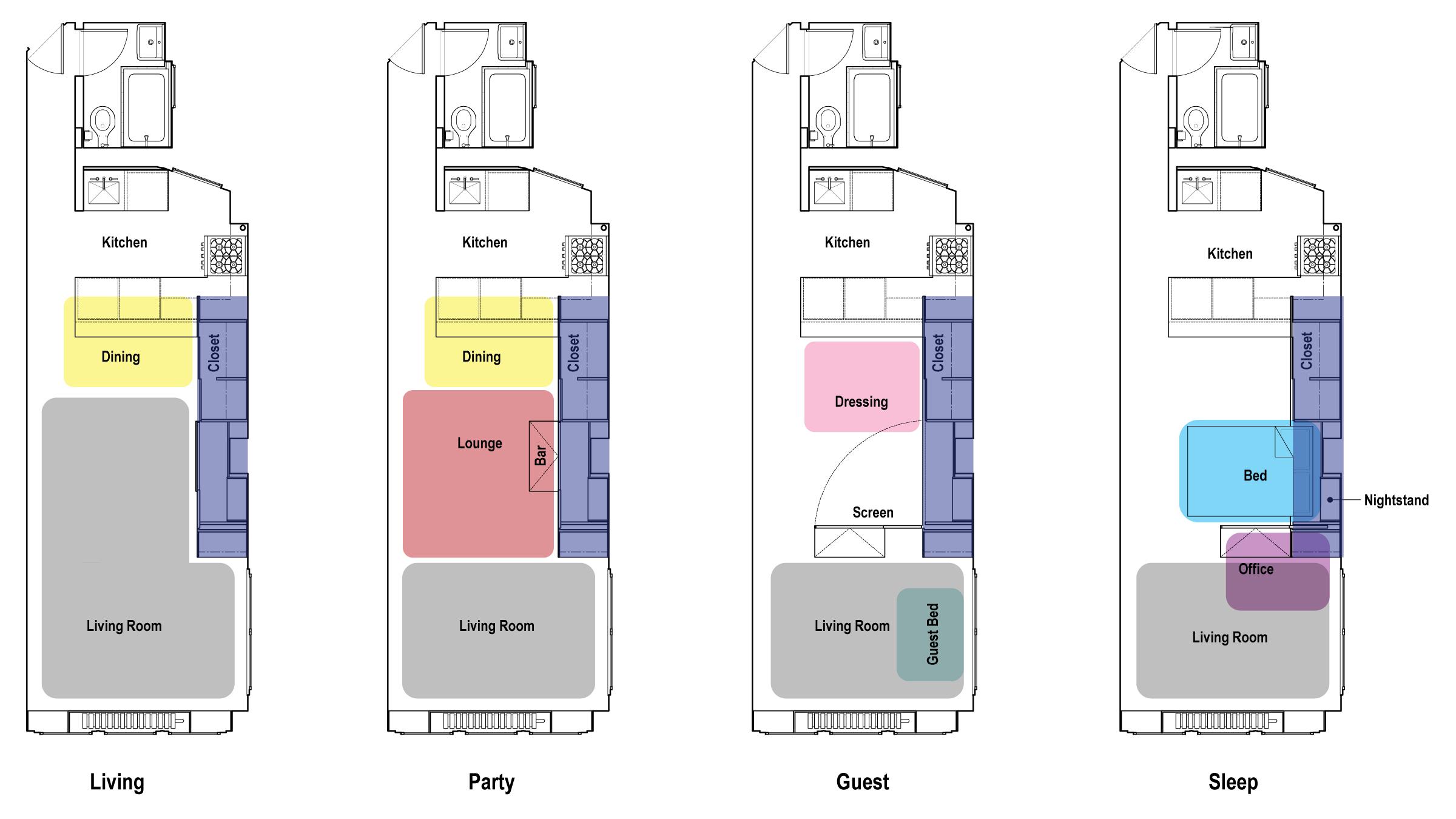 решения для маленькой квартиры