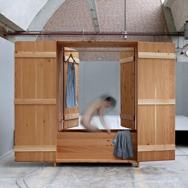 ванная шкаф