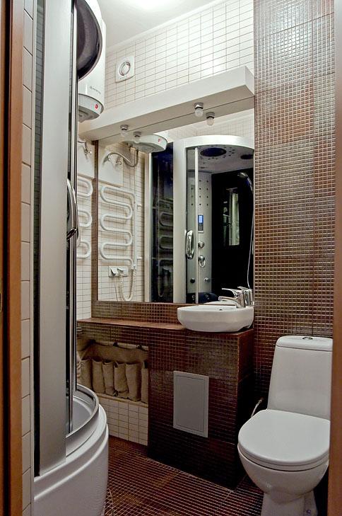однушки в хрущевки ванная комната