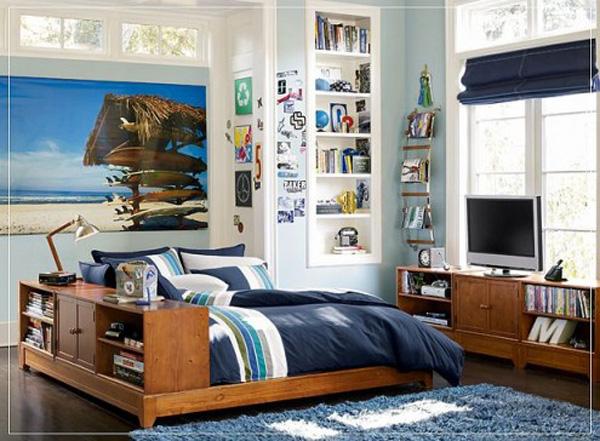 холостятская кровать в спальни