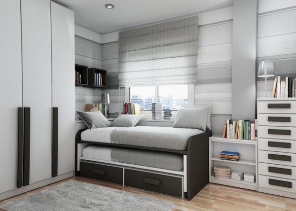 спальная комната в класических тонах