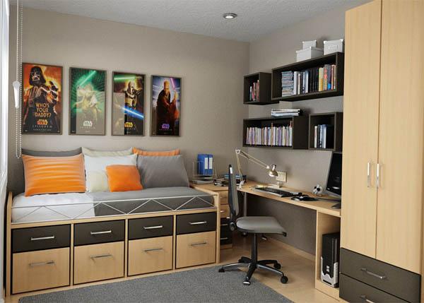 подросковая спальня