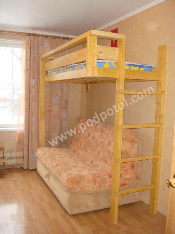 Кровать-чердак Удобная