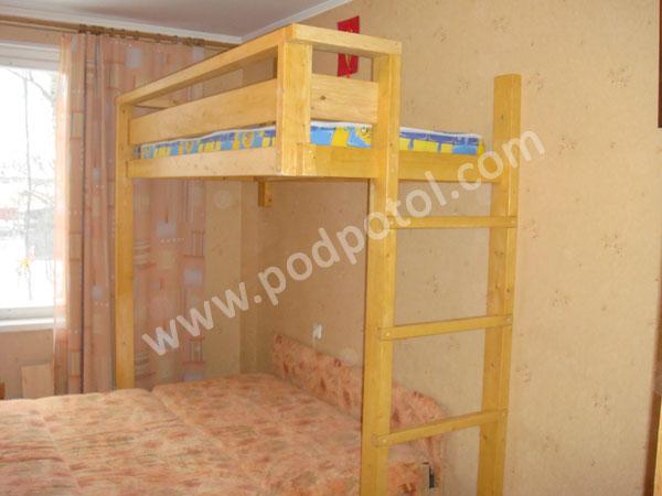 Кроватьчердак Удобная