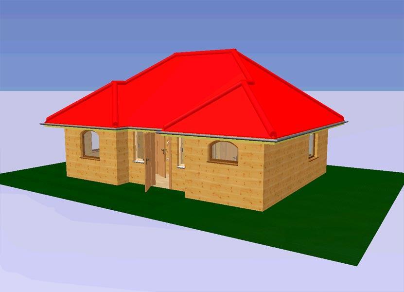 Дом из бытовок крыша
