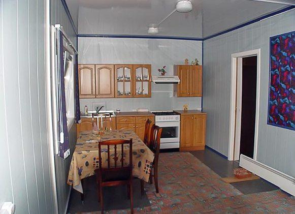 дом из бытовки кухня
