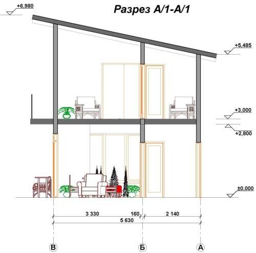 Канадский дом из sip панелей план дома