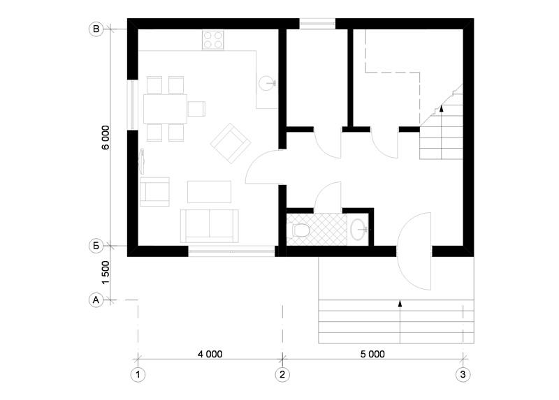модульный дом дизайн