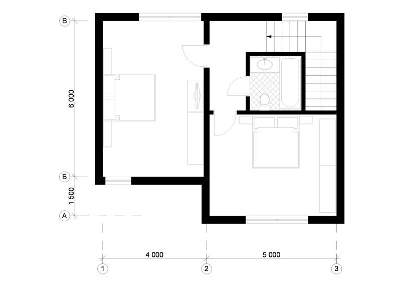 модульный дом планировка
