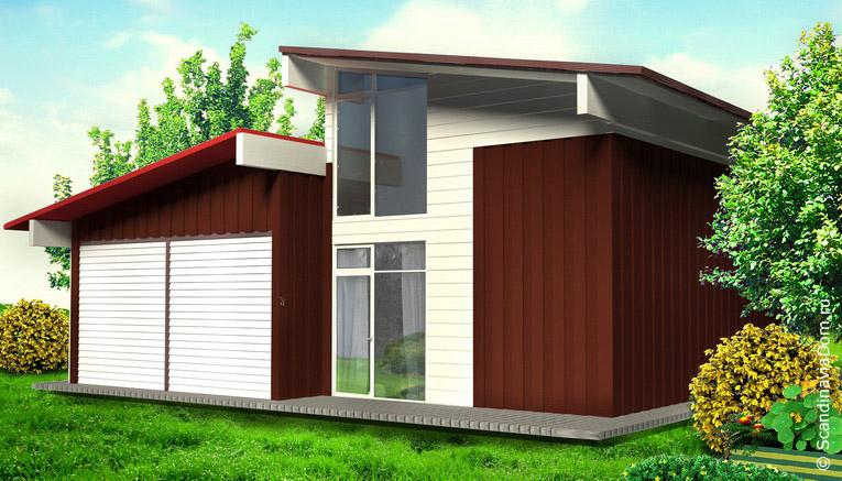 проект дом из швеции