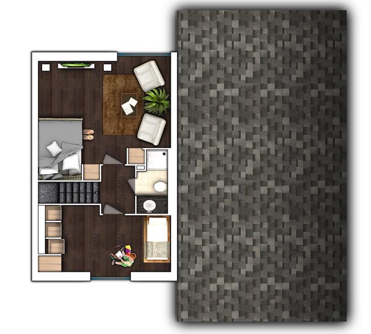 план второго этажа дом из швеции
