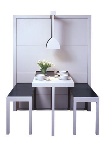 обеденный стол в маленькую кухню