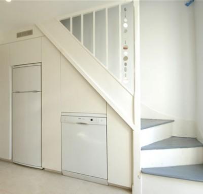 лестница в кухни