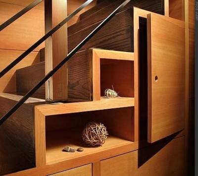 полки и лестница
