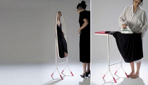 Универсальная гладилка зеркало