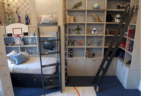 система хранения для детской комнаты