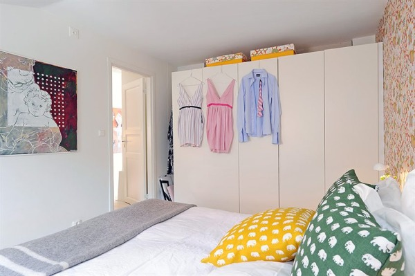 спальная на чердаке