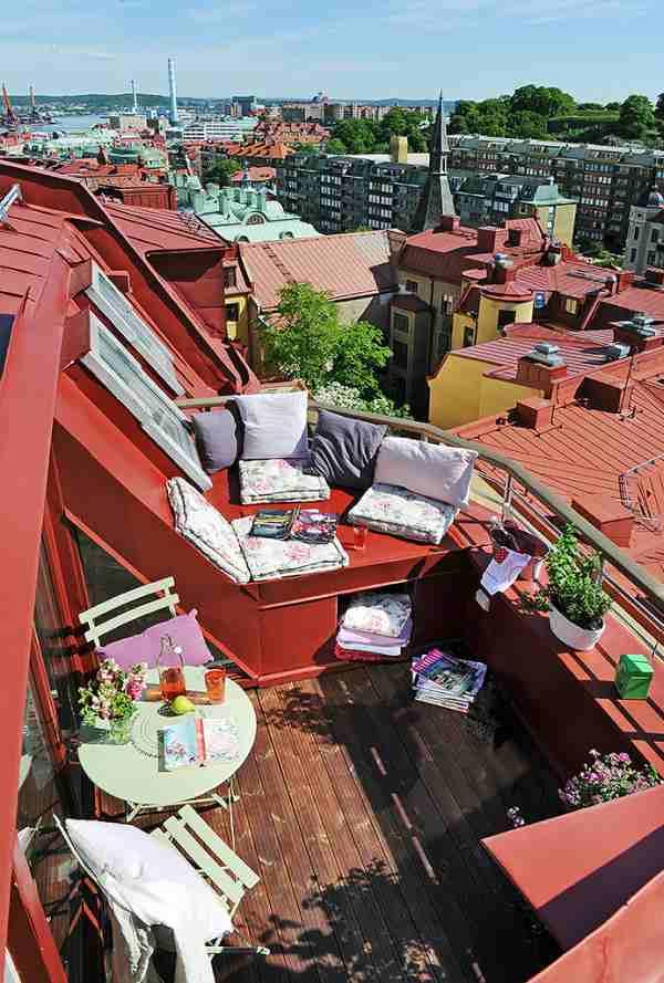 терасса на крыше