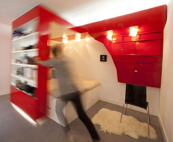дизайн маленькой квартиры рабочий стол