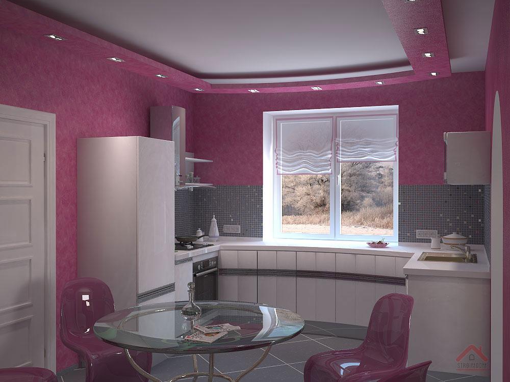 Дизайн кухни 12 кв.м в частном доме