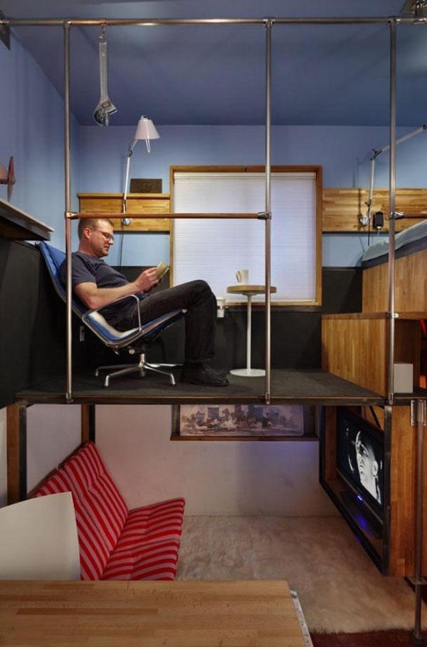 кабинет и гостинная