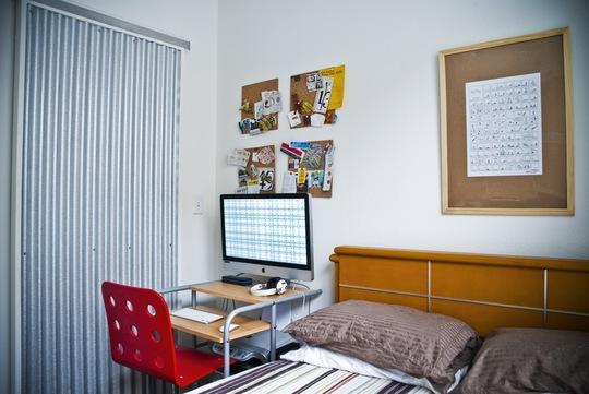 дизайн комуналки домашний офис