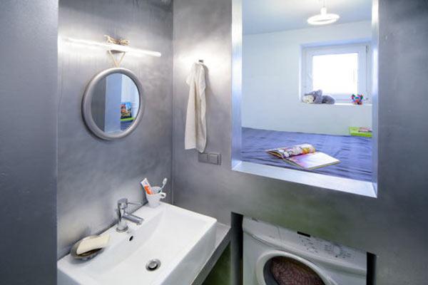 обустройство коммуналки ванная