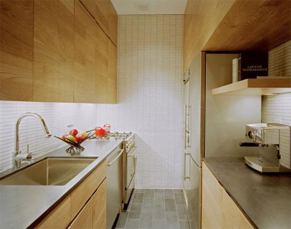 кухня маленькой квартиры