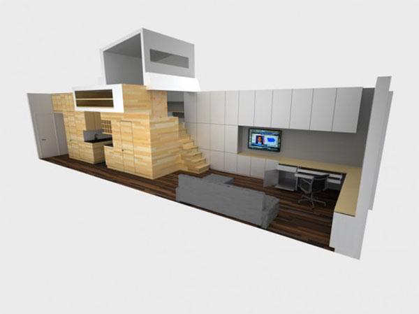 дизайн комната маленькой квартиры