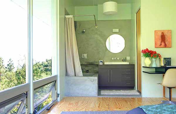 ванная для квартиры студии