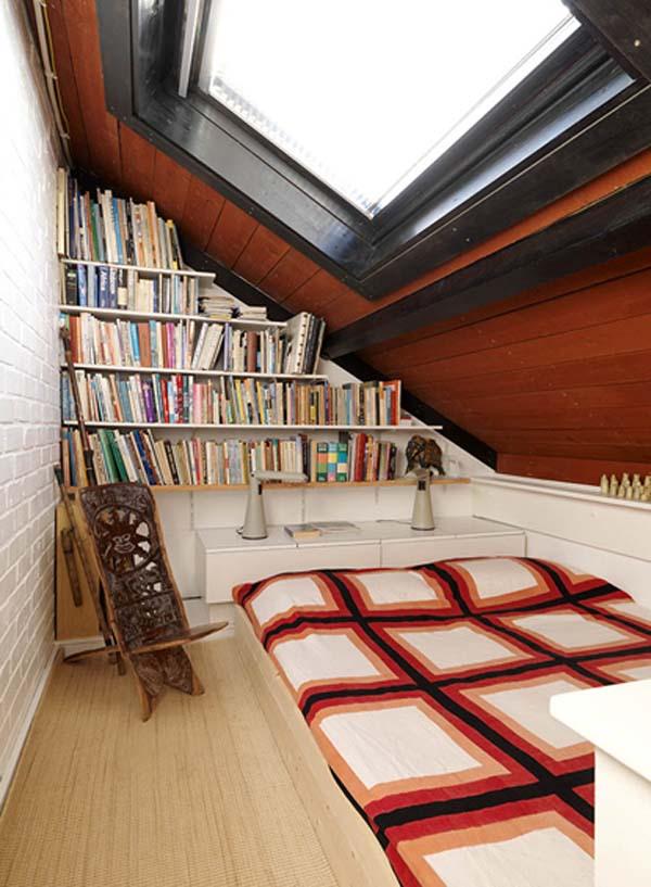 Спальня под крышей или чердак